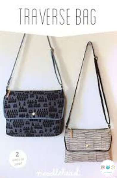 Noodlehead - Traverse Bag - Compact Crossbody - Sewing Pattern