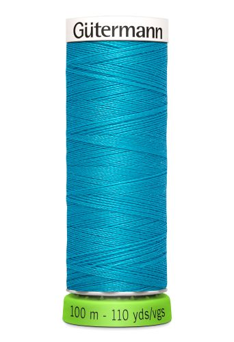 Gutermann Sew All Thread - Turquoise Recycled Polyester rPET Colour 736