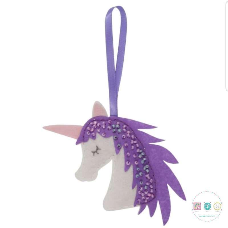 Gift Idea - Make Your Own Felt Unicorn Kit - by Trimits