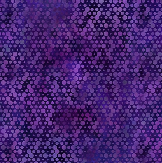 Purple Fabric with Dots - Urban Jungle by in the Beginning Fabrics
