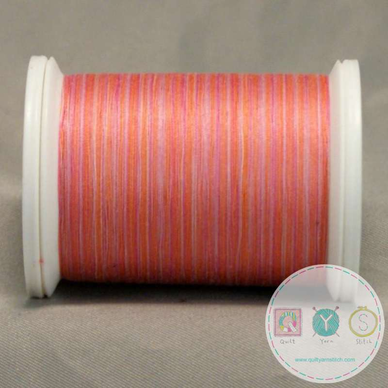 YLI Machine Quilting Cotton Thread - V74 Paris Boutique - Coral Pink Thread