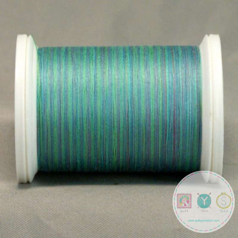 YLI Machine Quilting Cotton Thread - V77 Alaskan Twilight - Blue Green