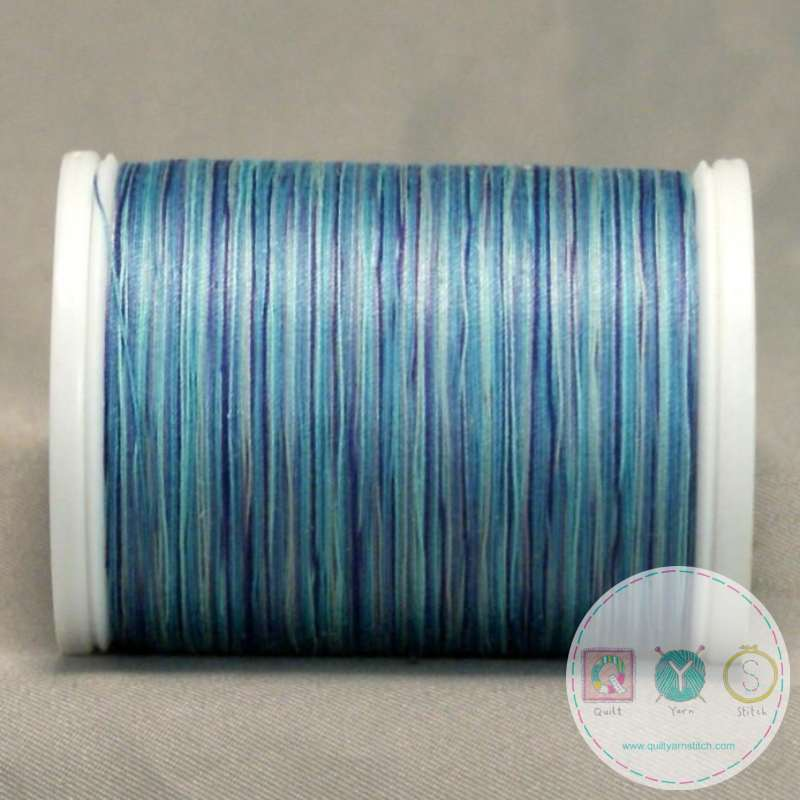 YLI Machine Quilting Cotton Thread - V80 Danube Blues Thread - River blue