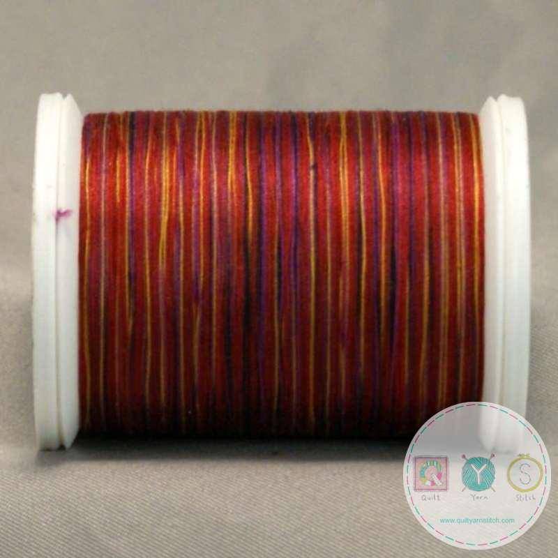 YLI Machine Quilting Cotton Thread - V86 African Kente Thread - Rusty Reds