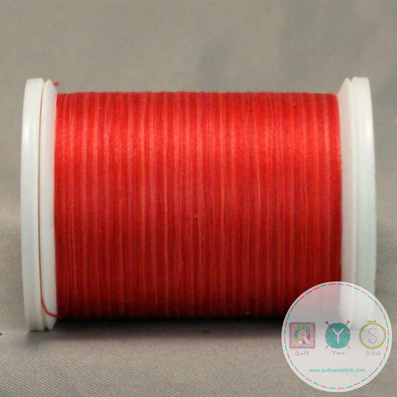 YLI Machine Quilting Cotton Thread - V89 Bejing Red Square Thread - Bright Red
