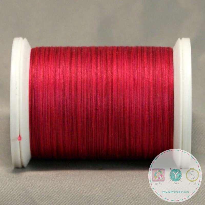 YLI Machine Quilting Cotton Thread - V90 Napa Valley Wine Thread - Deep Red