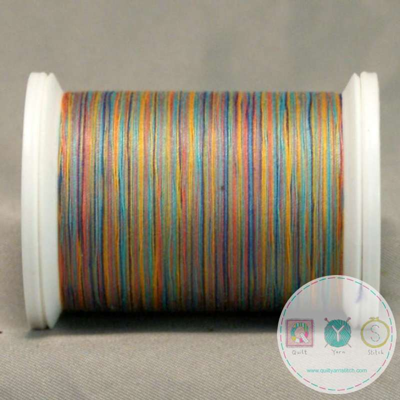 YLI Machine Quilting Cotton Thread - V91 Great Barrier Reef Thread - Pastel Shades
