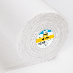 Vilene G700 White Fusible Woven Heavy Weight Interfacing