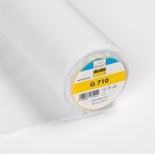 Vlieseline G710 White Light Woven Fusible Interfacing