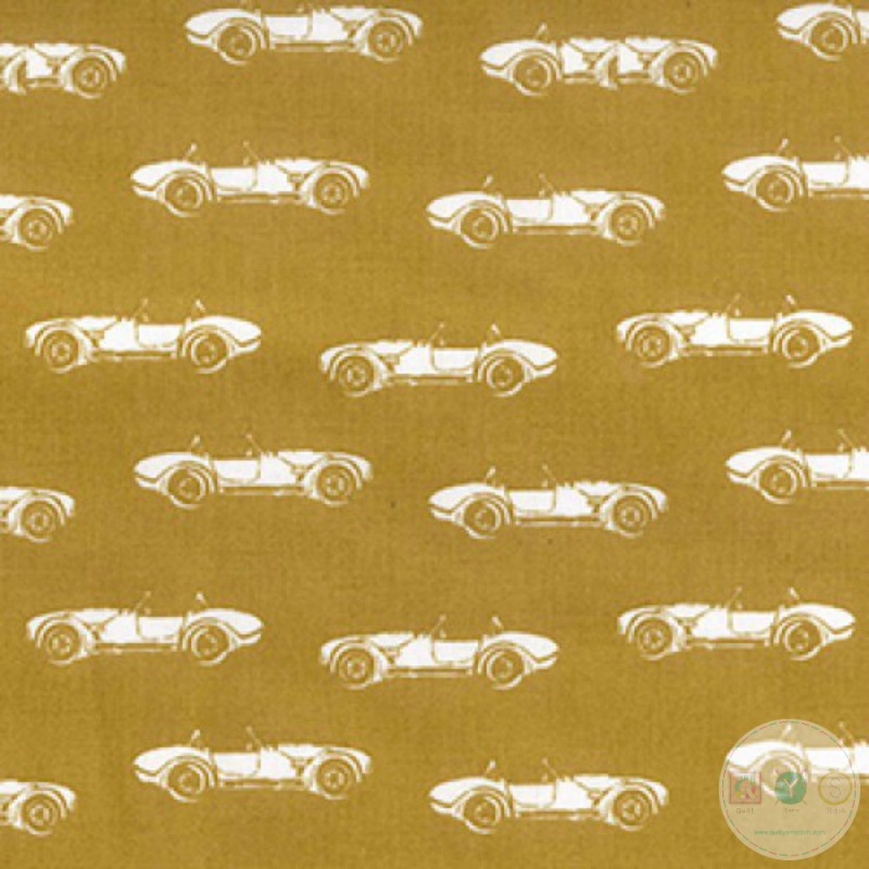 Vintage Cars On Gold - 60