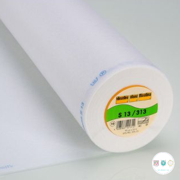 Vl313 White - Vilene Heavy Weight - Sew-In - Interfacing - Vlieseline - Dressmaking