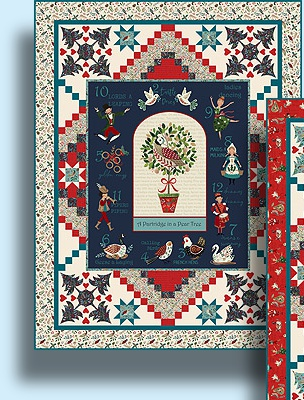 Gift Idea - 12 Days of Christmas Quilt Kit Version 1