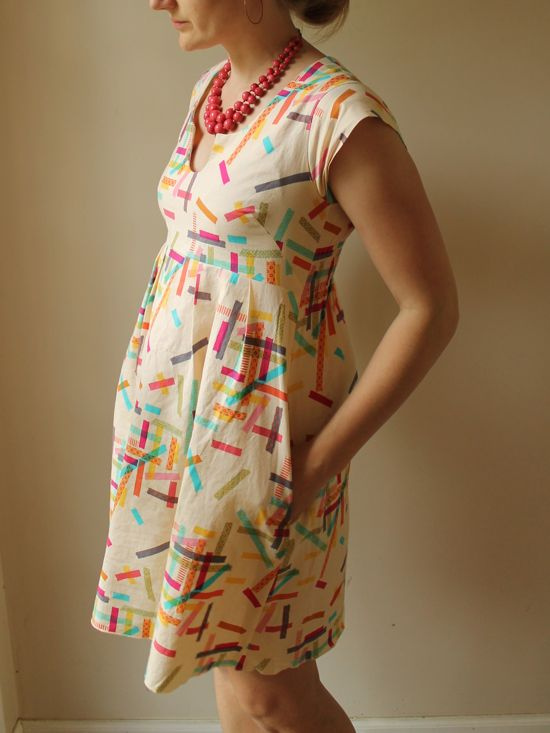 Washi Dress Sewing Pattern by Rae Hoekstra for Made by Rae Designs