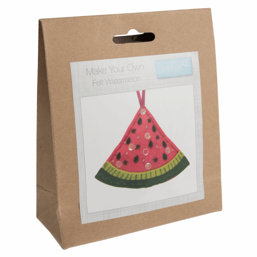 Gift Idea - Make Your Own Felt Watermelon Decoration Kit