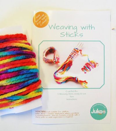 Gift Idea - Weaving With Sticks Kit