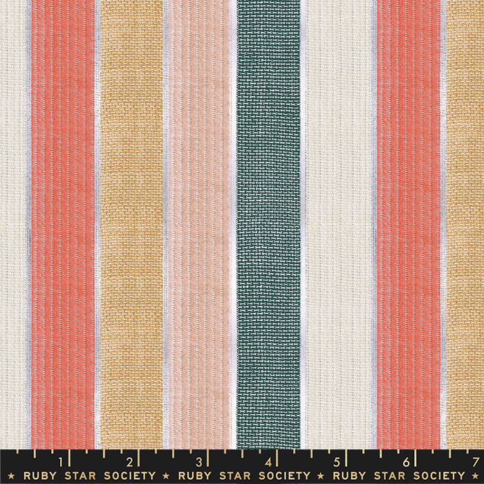 Woven Cotton Fabric - Holiday Stripe - Ruby Star Society's Candlelight Wovens Collection RS4011 14