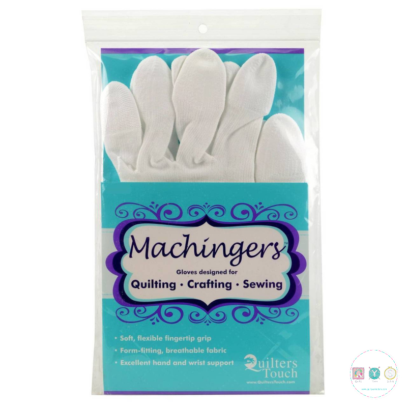 Quilters Touch Machingers - XL - Quilting Gloves