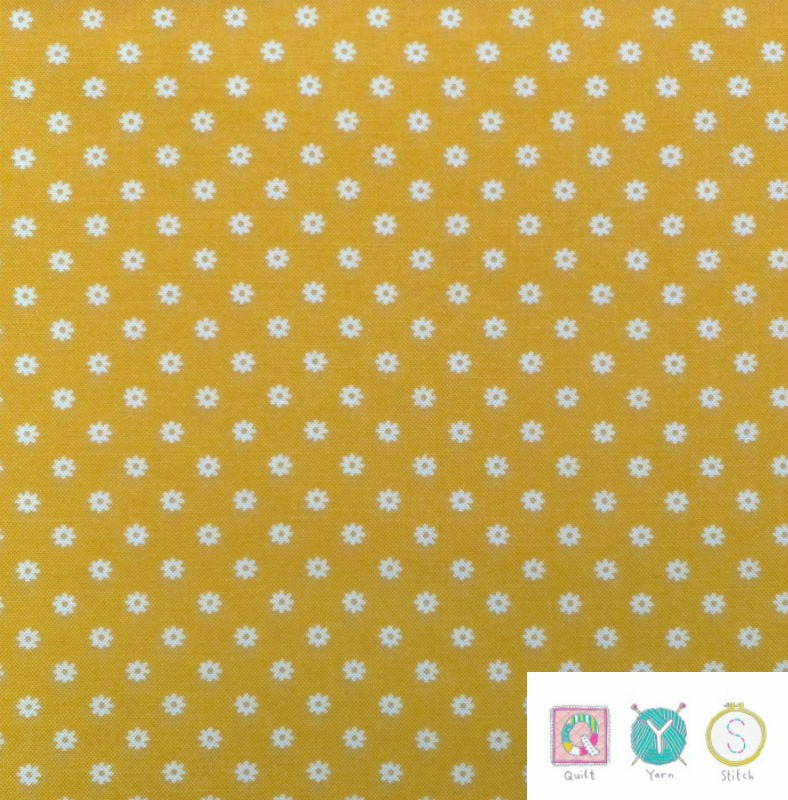 Yellow Daisy - Hop, Skip and a Jump by American Jane for Moda Fabrics - Patchwork & Quilting