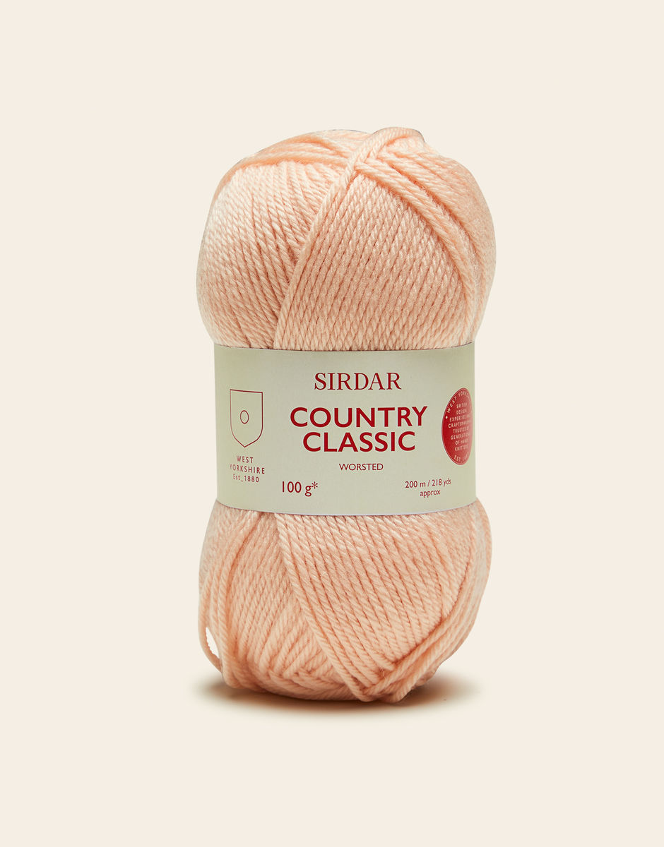 Yarn - Country Classic Worsted by Sirdar- Melba 658